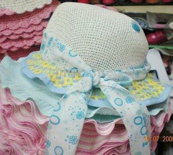 hat 20pcs/lot hot Mixed Infant Girls Sunhat Hat cap sun
