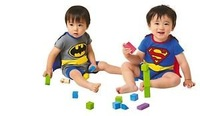 Boys Fancy Dress Muscle Superman Costume baby cloth+wholesale and retail+free shipping