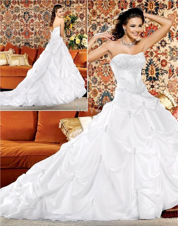 vestido feito sob medida 2-30 vestido NOVO perfeito sexy bordado casamento tailing / Noiva(China (Mainland))