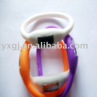 Pretty gift! silicone ion watch! wholesale watch
