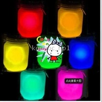 Sun Jar colorful 7 colors Solar Light Sun and Moon Jar Lamp Sunshine Bule - 10pcs Amazing