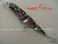 Japanese Style MS Slammer type 3 Sections Joint Hard Lure jerk lure (MS130s) hard bait fishing bait  plastic bait