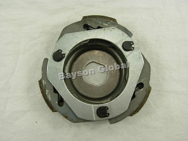 Free Shipping Racing clutch shoe,GY6, 125CC,150CC ENGINE USE scooter parts @70008(China (Mainland))