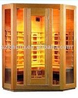 infrared sauna room cheop89 FINLAND WHITE SPRUCE,CANADA HEMLOCK,RED CEDAR,BURMA RED PINE,RUSSIA PINE,CE,FCC,ROHS,ISO9001,ISO1400
