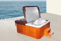 massage bathtub KHUFU8801 USA lucite acrylic,stainless steel bracket and jet,CE,FCC,ROHS,ISO9001,ISO14001