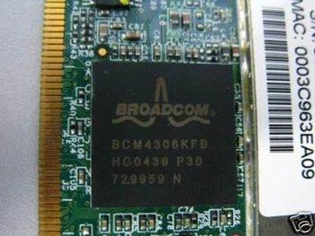 Freeshipping! 100pcs/lot Wireless Wifi MIni PCI Card FOR broadcom BCM430 6KFB 802.11b/g 54Mbps INTEL  BROADCOM PCI WIFI CARD