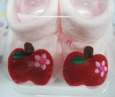 Meias Meias Sapatos arrancar 22pairs/lot nova chegada Sapatinho de bebê infantil(China (Mainland))
