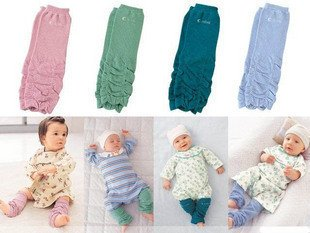 - Sweet Fold of baby leg warmers Baby Leggings knee socks/ 28 pairs lot AY(China (Mainland))