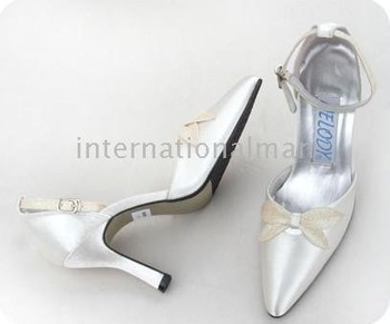 1 pair/lot Ivory Bridal New fashion Design Evening/Wedding/Party Shoes A0033M