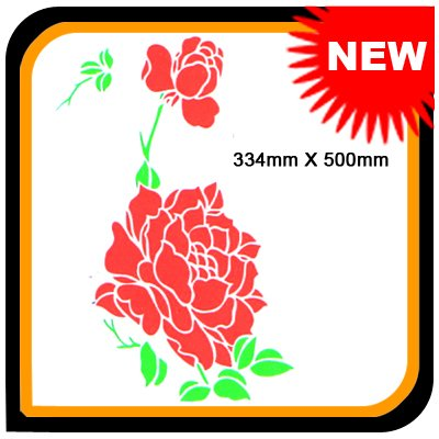"NEW 8"" x 18"" Instant Stencil B-010 @free shipping(China (Mainland))"