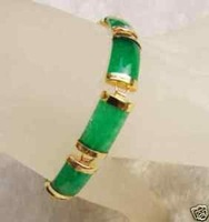 Charming jewelry Beautiful green jade bracelet bangle