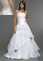 2009 lovely New Wedding dress&bridesmaid custom-made
