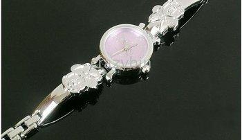 wholesale fashion watch/brand watch - - 10 pcs Hot cute thin chain bracelet Watches w3841