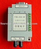 Model:FIB-232-S,   RS232 to single-mode fiber optic converter,No Power.Factory direct sale, support online sale.