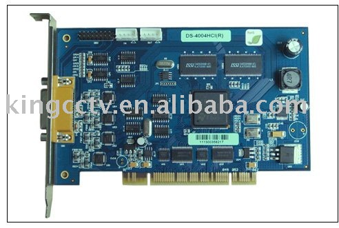 Video capture Card:Hikvision DS4004HCI(China (Mainland))