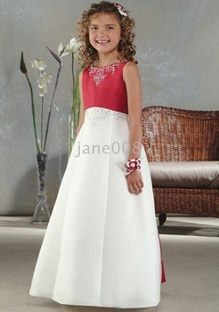 Postage Free- Little girl' beautiful party dress/ X mas dress/flower girl dress