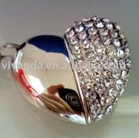 Free shipping 4GB(10pcs/lot) Diamond Necklace&Jewelry usb  Flash Drive