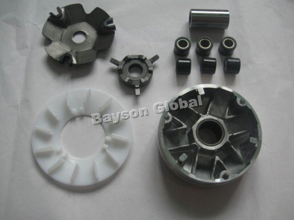 Free Shipping Variator Kit GY6 49cc QMB/139 4 Stroke Scooter Moped ATV Go kart Parts @65796(China (Mainland))