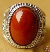 Beautiful Tibetan Silver charming coral ring