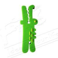 Cartoon animals cable organizer/ cable winder/ wire organizer/ earphone MP3 accessory-the crocodile