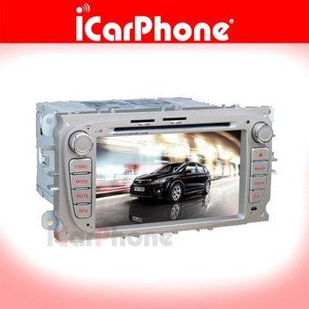 """iCarPhone. 7"""" Din Car DVD GPS Navigation For Ford Focus 2007-2009"""