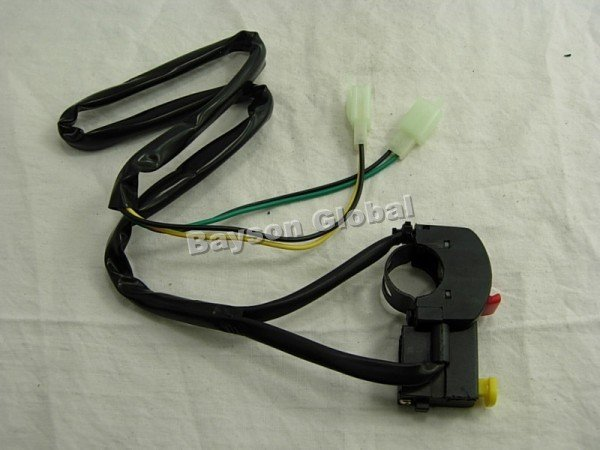 Free Shipping Shutdown Switch With E-start Dirt/pit/trail Bike/atv/quad Parts @65760(China (Mainland))