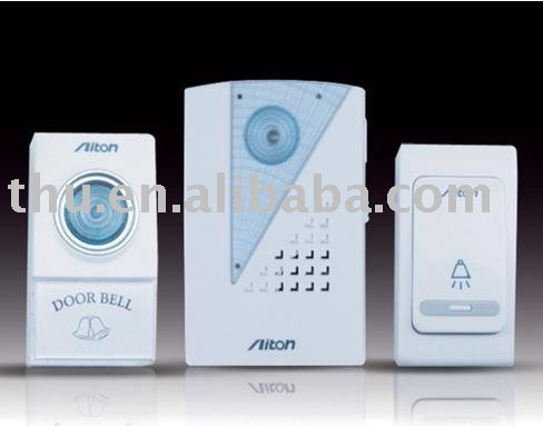 Wholesale Free shipping Family safety series products-Wireless doorbell#V001AB(China (Mainland))