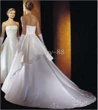 wedding dresses KG 2010 arrival Hot Designer gorgeous Wedding Dress Wedding Gowns Good quality(China (Mainland))