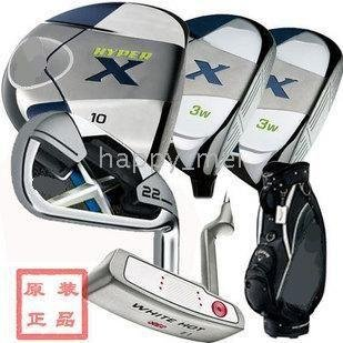 new Brand HYPER X X22 complete club sets golf with full Clubs (3w+9I+1P)+ bag +GOLF HAT