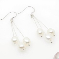 Free shipping ! Wholesale 2010 Pearl jewelry earrings ES4388