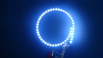 Waterproof Great Wall Flexible LED Strip Light with 96pcs LEDs/0.96m quantity,warm white color