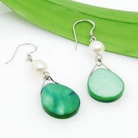 Free shipping ! Wholesale 2010 Pearl jewelry earrings ES4409