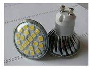 SMD LED Spot light;GU10 base;20pcs 5050 led;240lm;2800K-3300K,warm white