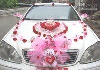 Car Exterior Decorate Wedding New!!