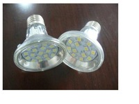 SMD LED Spot light;E27 base;15pcs 5050 led;180lm;5500K-6000K,cool white