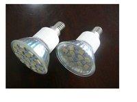 SMD LED Spot light;E14 base;15pcs 5050 led;180lm;5500K-6000K,cool white