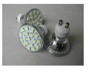 SMD LED Spot light;GU10 base;15pcs 5050 led;180lm;5500K-6000K,cool white