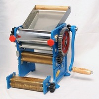 Handle Noodle Making Machine With 2 Knifes And Handle Shake  Make 2 Kind Noodles Maker Fress Flour Machine Free Shipping