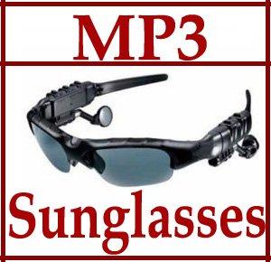 Sunglasses 4GB Headset car Headphone Mp3 Player sports Sun Glass