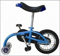 free shipping Easy Portable Walking Balance Bike With High Quality blue