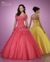 Dress Wedding Apparel & Accessories strapless sleeveless all Size #FFF27 2010 New Wedding