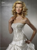 Wedding Apparel & Accessories strapless sleeveless all Size #FFFFF New Wedding Dress