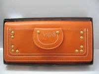 Brand New Style women`s orange XX1 wallet /clutch wallets/purse/notecase/checkbook
