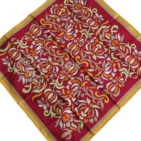 K1 Brand New women`s 100% Silk scarves/Wrap /scarf/shawl size :90x90cm 3
