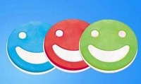 cup mat,smile face style,free shipping