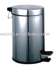 foot pedal stainless steel waste bin hsy8061(China (Mainland))