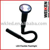 12 LED Flashlight+flexible tube
