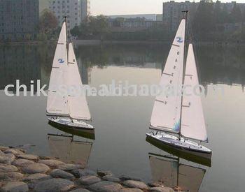 R/C sailing boat, RTR 4pcs/CTN- Free Shipping