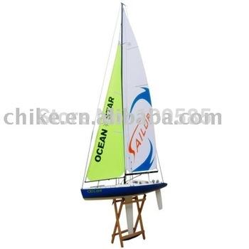 R/C sailing boat