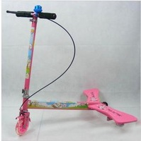 2pcs/lot pink Swing Scooter,Razor Power Wing,Power Wing Scooter